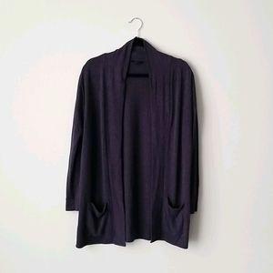 RW&CO. Navy Long Sweater Vest